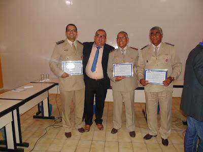 Câmara de vereadores de Floresta Azul homenageia oficiais da PM/regional