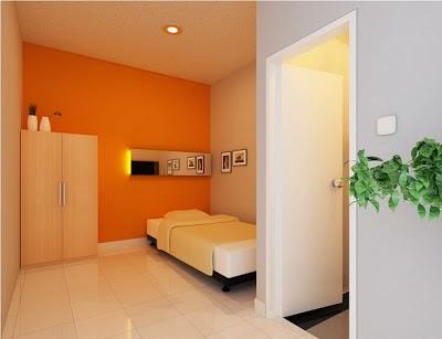 desain rumah kost minimalis sederhana merpati tempur
