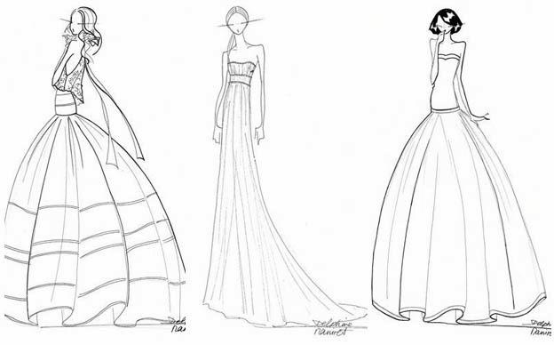 Site pour dessiner sa robe de mariee