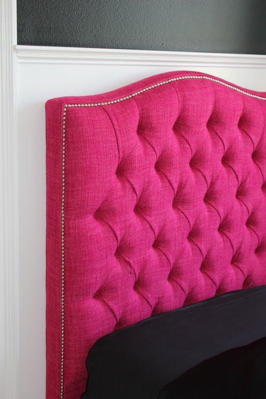 Bdg style think pink - Como hacer cabezales de cama ...