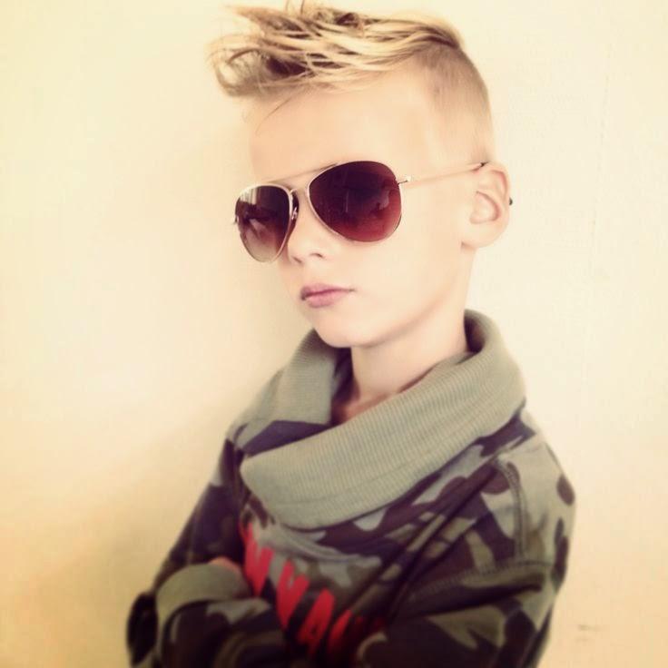 Most 10 Stylish Little Boy s Hair Style Latest 2014