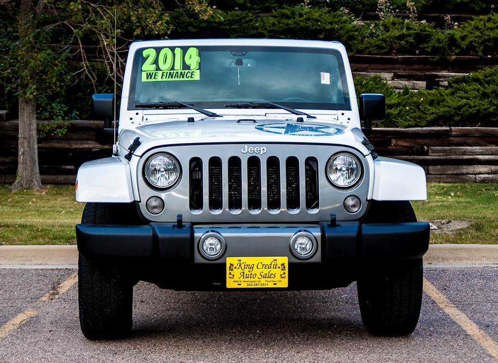 King Credit Auto Sales: 2014 Jeep Wrangler Unlimited Freedom Edition, Denver  Used Jeep #C23181