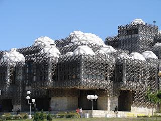 Nationale Bibliotheek van Pristina (Kosovo)