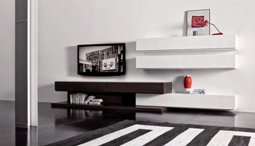 wall mounted TV unit cabinet designs