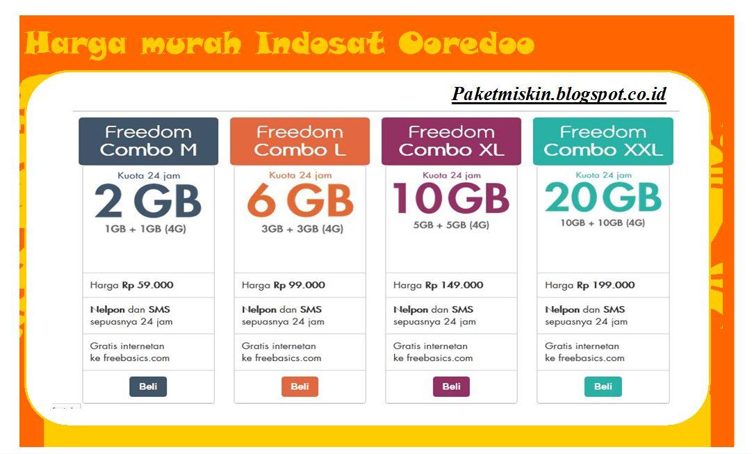Indosat Ooredoo Murah Cara Daftar Paket Internet Murah