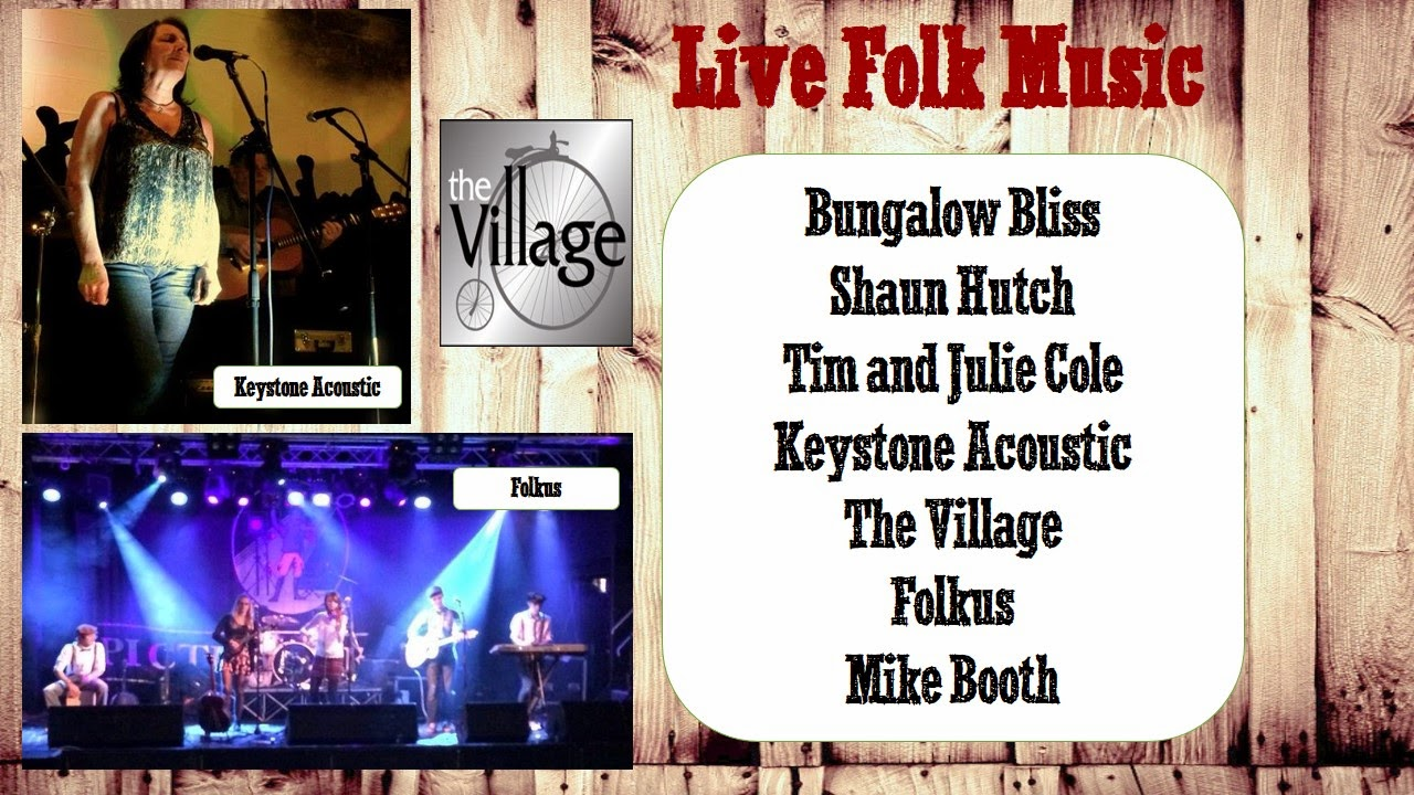 Folk music at Bird's Yard 24th May