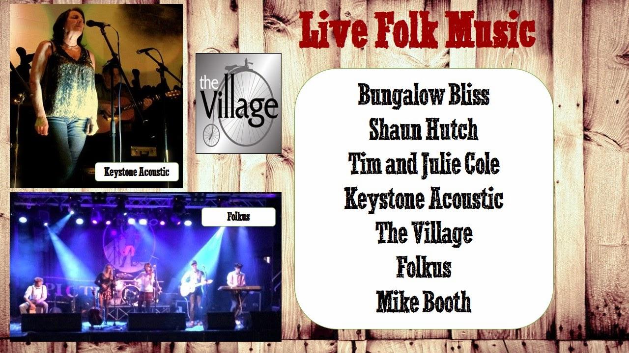 Folk music at Bird's Yard 24th May