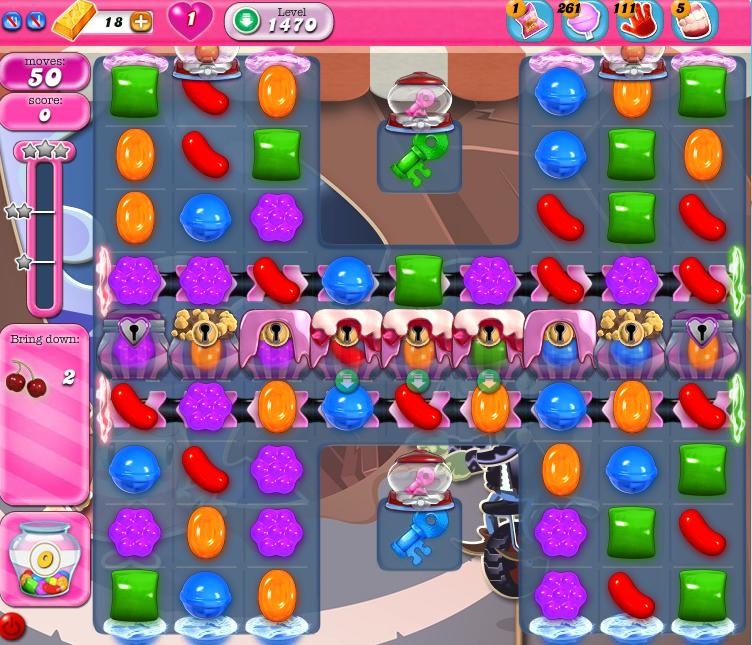 Candy Crush Saga 1470