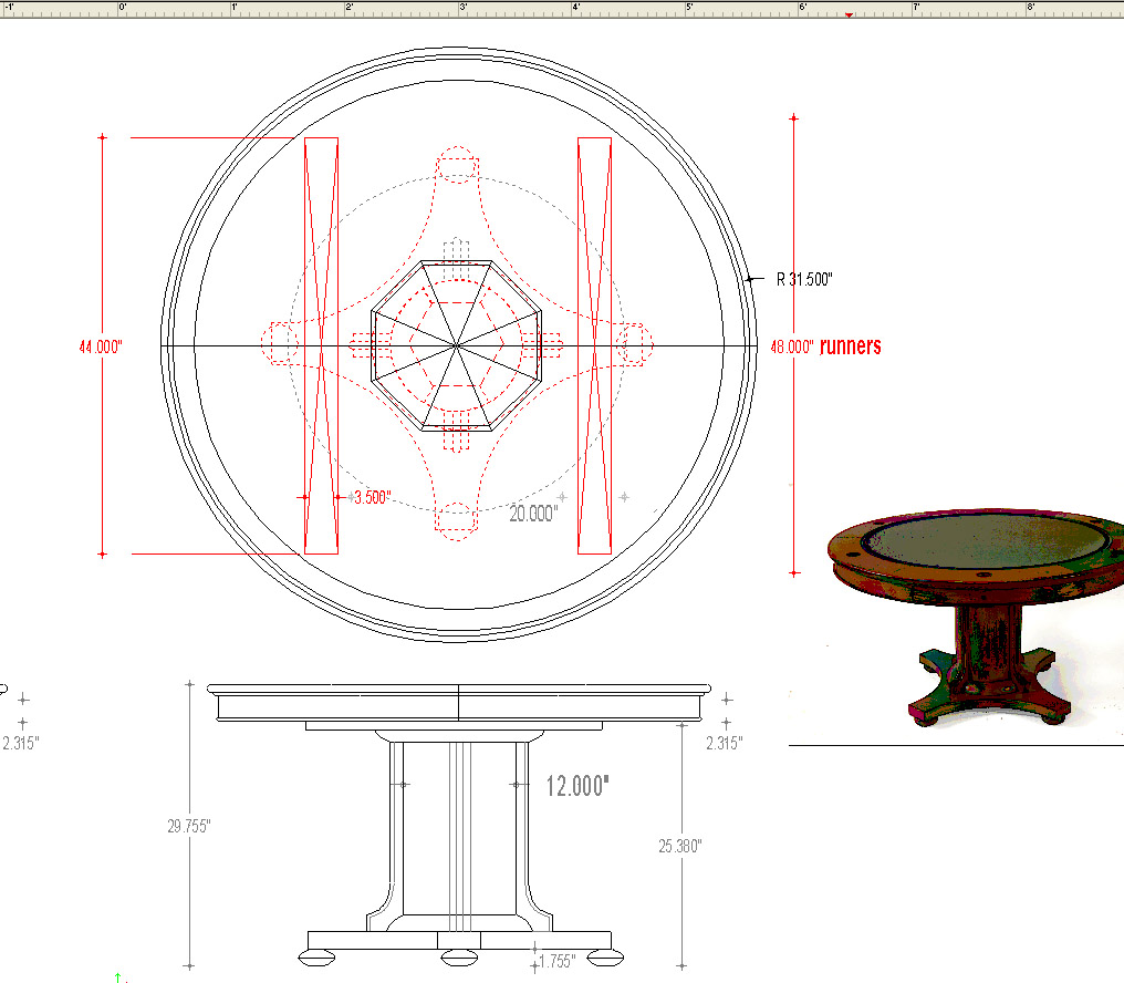 Amma Dining Table Cad Block Elevation Learn How