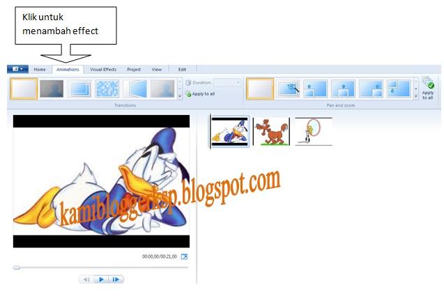 Cara membuat video dari foto (membuat foto menjadi video menggunakan windows movie maker)
