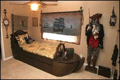 pirates of the caribbean bedroom furniture though