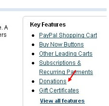 blogger tips and tricks paypal button