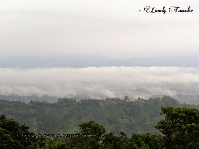 a journey to sajek Megh punji - the village in the cloud is located in a very unique & scenic spot of  ruilui para, sajek perched high atop a mountain peak that is often surrounded.