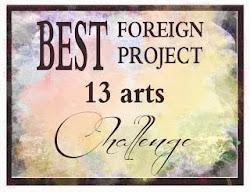 13 arts June 2013 Challenge