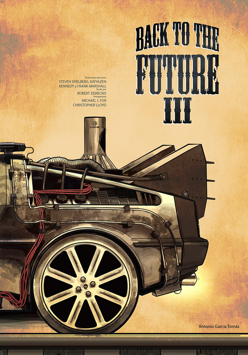Geek art gallery posters back to the future