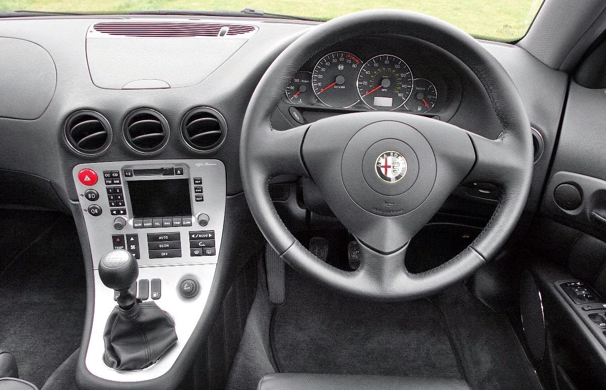 Alfa 166 came with generous levels of standard kit