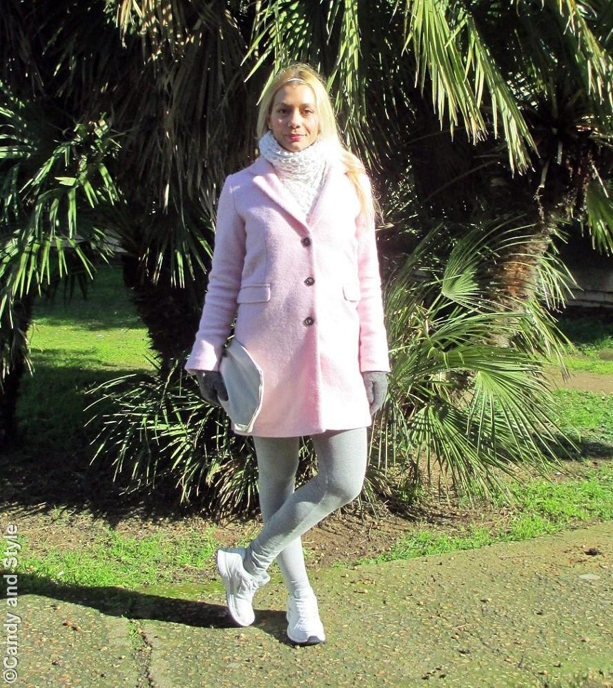 Pink - Grey - White