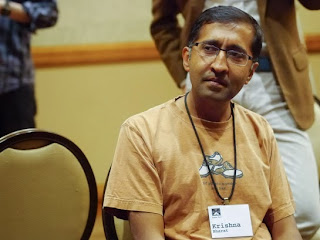 Google news founder Krishna Bharat