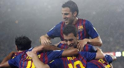 Barcelona 5 - 0 Atletico Madrid (3)