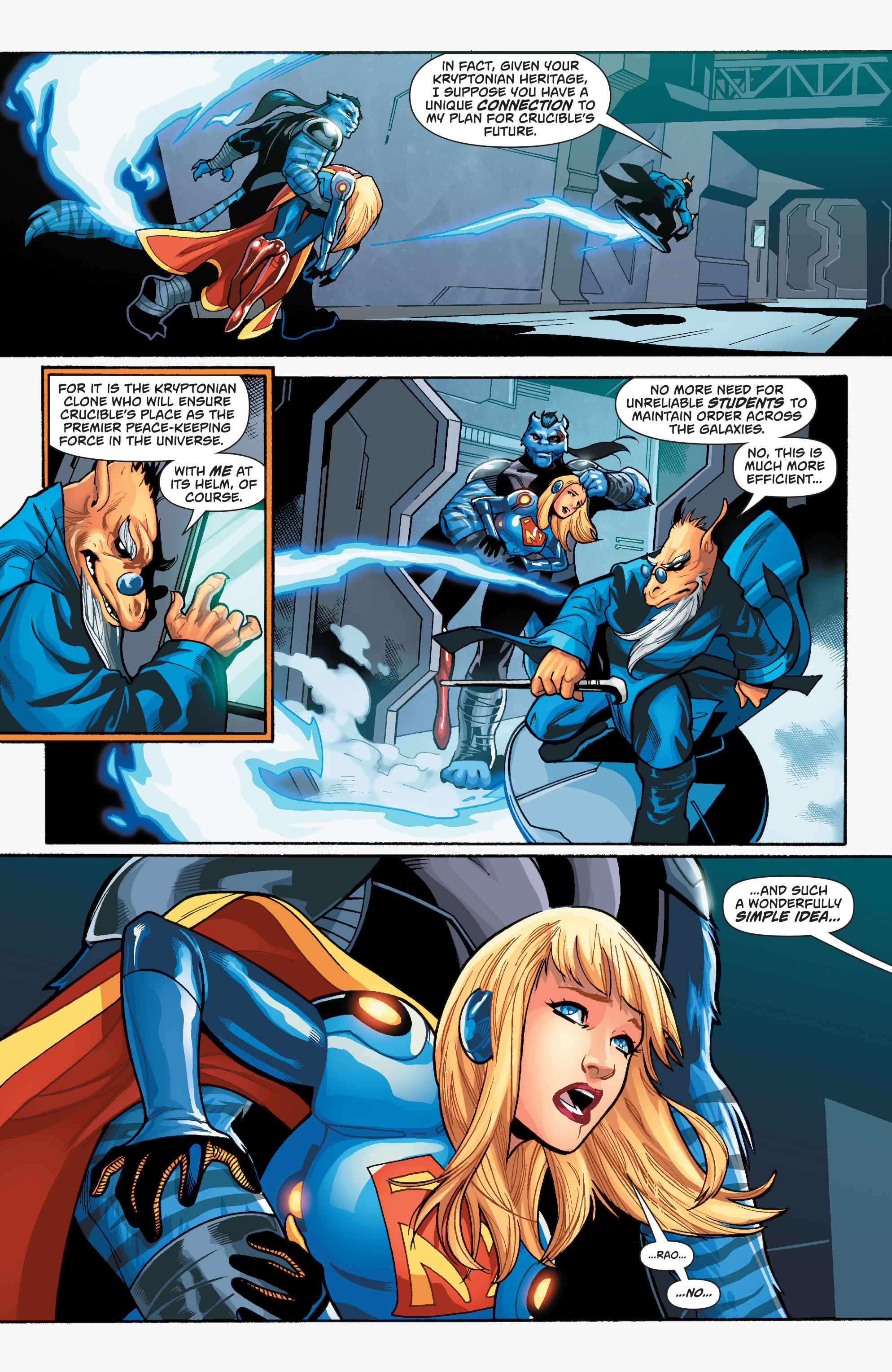 Supergirl (2011) Issue #39 #41 - English 18