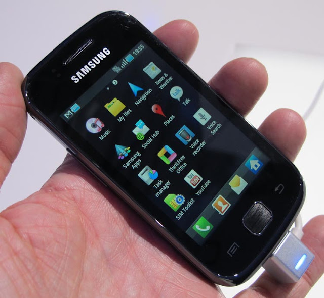 galaxy gio launch release available specs hands on