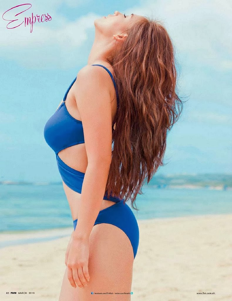 Empress Schuck HQ Pictures FHM Philippines Magazine Photoshoot March 2014