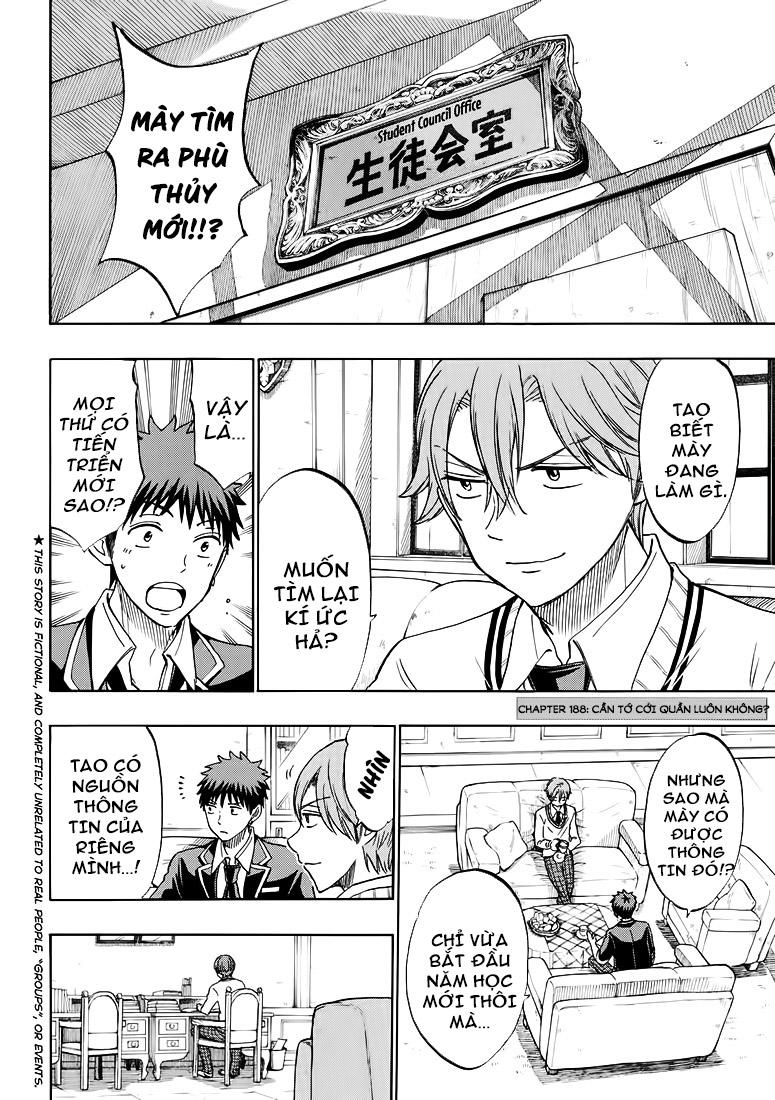 Yamada-kun to 7-nin no majo chap 188 Trang 3 - Mangak.info