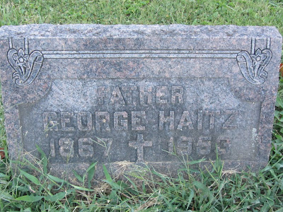 George Haitz, Sr., Maplewood Cemetery, Ripley, Ohio