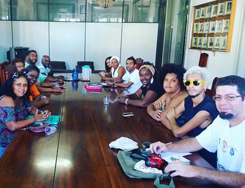 Reunião da unegro na região Sul Fluminense