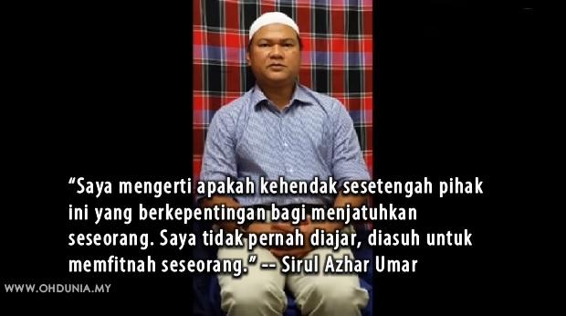 Najib tak terlibat dalam pembunuhan Altantuya, kata Sirul (Video)