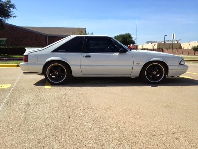 Whiteboys Mustangs 1989 mustang Lx 50 Ebay find