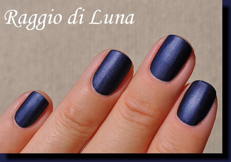 Raggio di Luna Nails: Avon Magic Effects Matte Inky Blue