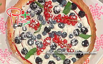 Crostata ai Frutti di Bosco di Anna Moroni da La Prova del Cuoco