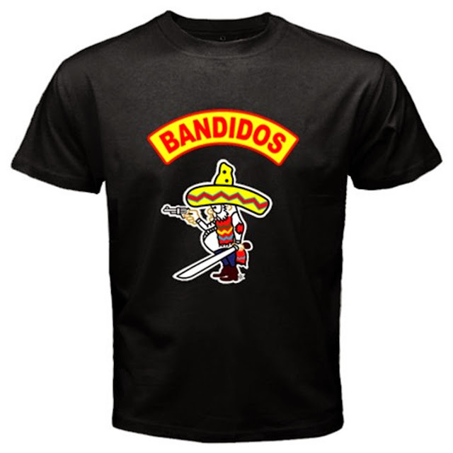 Bandidos T-Shirt Black/White