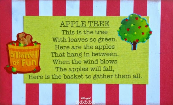 Apple Poems For Kids @ Blissful Roots
