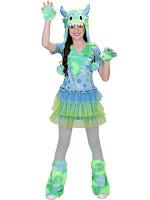 M;onster pige kostume