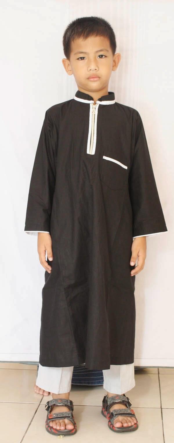 Baju gamis anak laki-laki jubah panjang