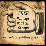 Vintage Digi Stamps