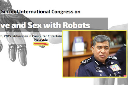 "Malaysia Ambil Keputusan Tegas larang Konferensi ""Sex With Robot"""