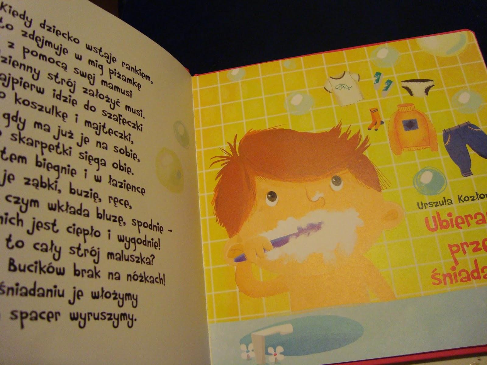 wierszyki 2latka, recenzja, muza, książka dla dzieci