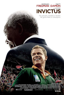 invictus, morgan freeman, clint eastwood, matt damon