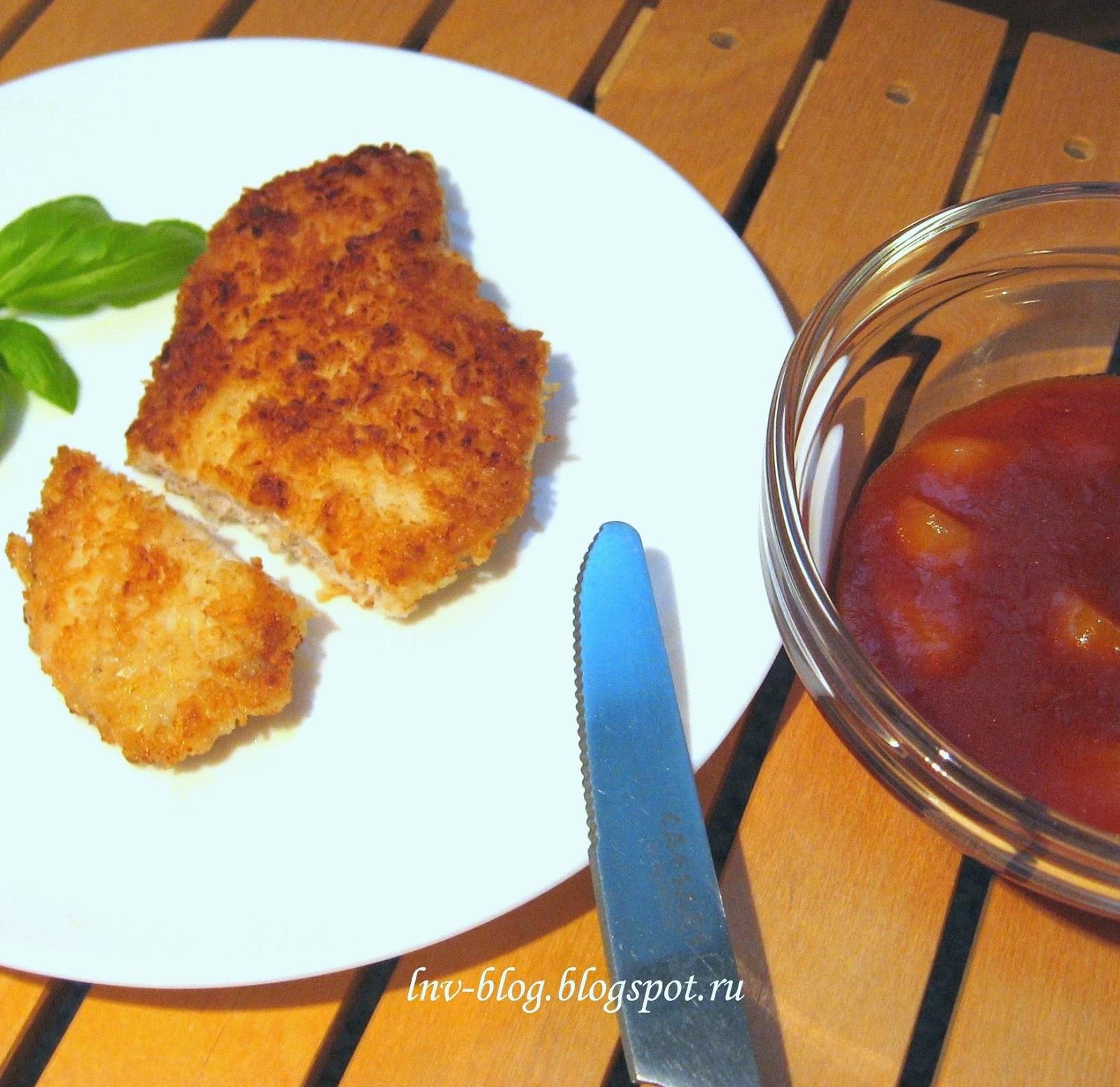 Шницель из рыбы рецепт