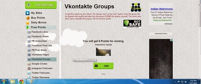 Addmefast iMacros Script for Vkontakte Groups