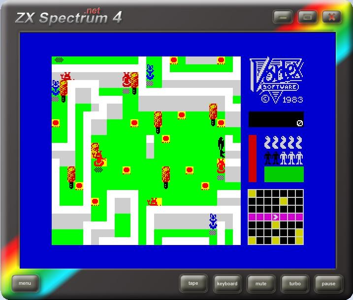 EmuCR:Zx Spectrum 4 .Net