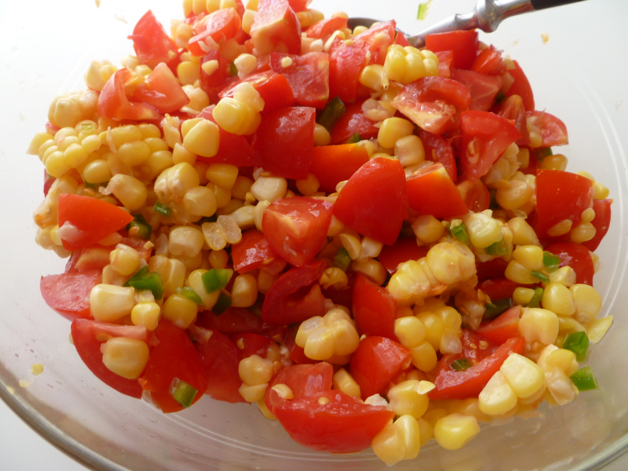 ... Farmers Market: Fish Tacos with Fresh Corn and Tomato Salsa