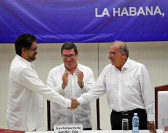 Gobierno y FARC firmaron acuerdo final para la paz en Colombia