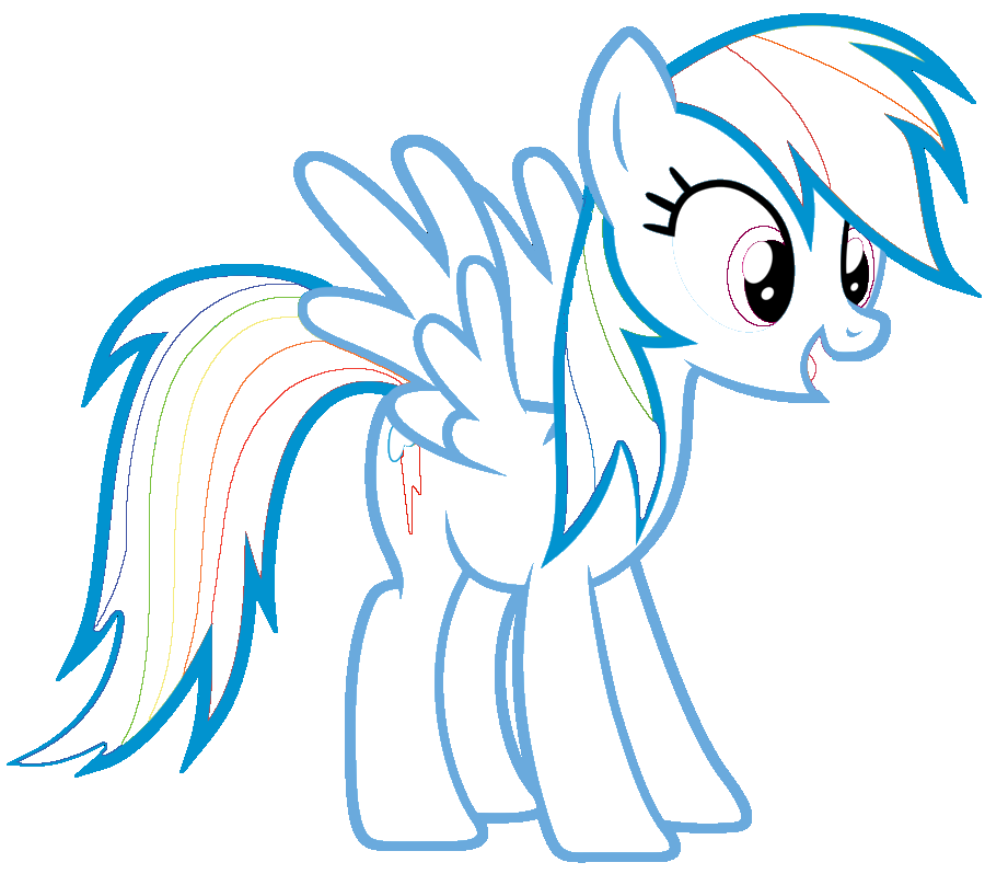 Search Results For Rainbow Pony Coloring Pages