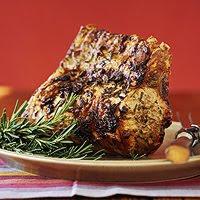 Loin of Pork with Lemon-Rosemary Rub