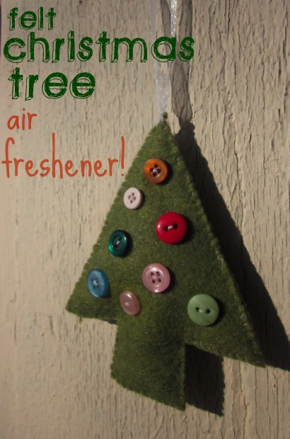 Christmas Tree Car Air Freshener