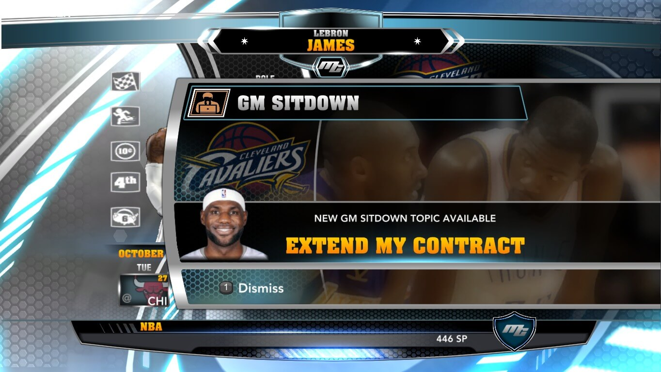 NBA 2k14 MyCareer Mod : LeBron James - hoopsvilla